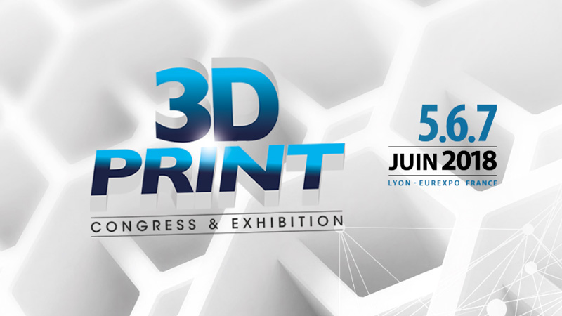 Evatronix obecny na 3D Print Congress and Exhibition w Lyonie