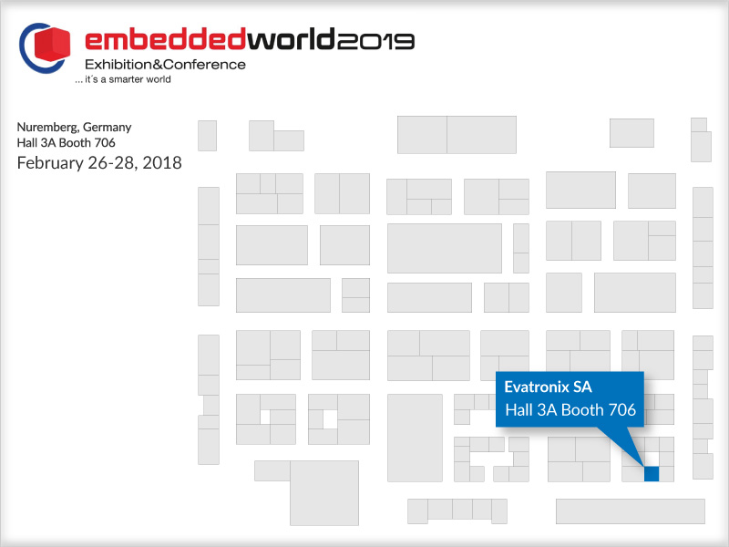 embedded world 2019 Plan 4