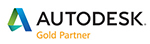 Autodesk Gold Partner 150x44