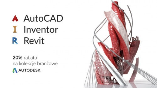 AutoCAD, Inventor, Revit - Rabat do 20%